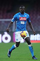Kalidou Koulibaly  Napoli<br /> Napoli 22-12-2018  Stadio San Paolo <br /> Football Campionato Serie A 2018/2019 <br /> Napoli - Spal<br /> Foto Cesare Purini / Insidefoto