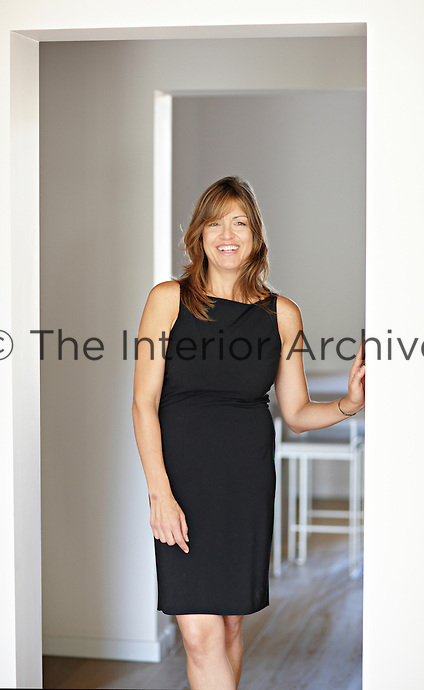 A portrait of architect Monica Mauti