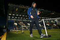 Blackburn Rovers' Elliott Bennett arriving at the stadium<br /> <br /> Photographer Andrew Kearns/CameraSport<br /> <br /> The EFL Sky Bet League One - Portsmouth v Blackburn Rovers - Tuesday 13th February 2018 - Fratton Park - Portsmouth<br /> <br /> World Copyright &copy; 2018 CameraSport. All rights reserved. 43 Linden Ave. Countesthorpe. Leicester. England. LE8 5PG - Tel: +44 (0) 116 277 4147 - admin@camerasport.com - www.camerasport.com