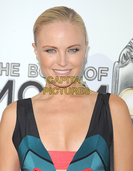 """Malin Akerman.""""The Book of Mormon"""" Hollywood Opening night Held At The Pantages theatre, Hollywood, California, USA..September 12th, 2012.headshot portrait black sleeveless blue green teal pink red .CAP/DVS.©DVS/Capital Pictures."""