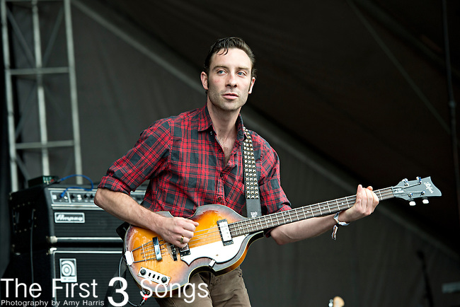 Jared Swilley of The Black Lips performs during the Forecastle Music Festival at Waterfront Park in Louisville, Kentucky.