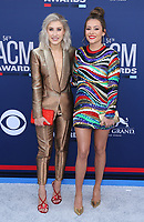 07 April 2019 - Las Vegas, NV - Maddie &amp; Tae, Madison Marlow, Taylor Dye. 54th Annual ACM Awards Arrivals at MGM Grand Garden Arena. Photo Credit: MJT/AdMedia<br /> CAP/ADM/MJT<br /> &copy; MJT/ADM/Capital Pictures
