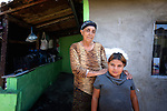 Nadia Yusuf is a Turkish-speaking Roma woman, here with a granddaughter, who lives in the Maxsuda neighborhood of Varna, Bulgaria.