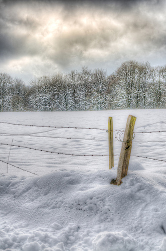 I know these are not strictly urbex, but it was on the way to locations.<br /> Snow in Belgium