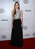 LOS ANGELES, CA, USA - NOVEMBER 08: Liana Liberato arrives at the Unlikely Heroes' 3rd Annual Awards Dinner And Gala held at the Sofitel Hotel on November 8, 2014 in Los Angeles, California, United States. (Photo by Celebrity Monitor)