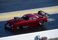 Apr. 13, 2012; Concord, NC, USA: NHRA pro mod driver Scott Ray during qualifying for the Four Wide Nationals at zMax Dragway. Mandatory Credit: Mark J. Rebilas-
