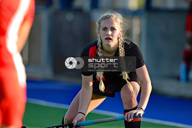 NELSON, NEW ZEALAND - JUNE 10: Top of the South Hockey Club Champs, Saxton Turf, June 10, 2017, Nelson, New Zealand. (Photo by: Barry Whitnall Shuttersport Limited)