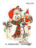 GIORDANO, CHRISTMAS SANTA, SNOWMAN, WEIHNACHTSMÄNNER, SCHNEEMÄNNER, PAPÁ NOEL, MUÑECOS DE NIEVE, paintings+++++,USGI1091,#X# stickers