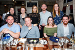 Family get together at Croi the Square on Friday Front l-r Brian Greensmith, Barry Leahy, Janet Leahy, Micheal Dillon Back l-r Brenda Leahy, Noreen Leahy, Stephanie Leahy, Keith Leahy and Christina O'Carroll