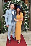 Johnny Greene (Best Dressed Man) and his wife Karina at the Killarney Apres Races party in The Brehon Hotel, Killarney on Thursday night.<br /> Photo: Don MacMonagle<br /> <br /> repro free photo<br /> further info: Aoife O'Donoghue aoife.odonoghue@gleneaglehotel.com