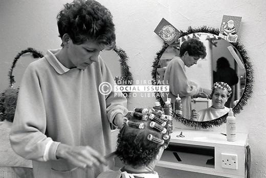 Hairdresser, UK 1988