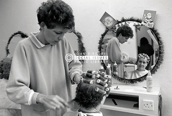 Hairdresser, UK 1988