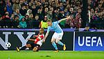 13-09-2017,Rotterdam, de Kuip, Voetbal, Champions League, Feyenoord-Manchester City 0-4<br /> foto Michael Kooren<br /> De Bruyne, El Amahdi