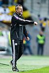 Solna 2013-09-30 Fotboll Allsvenskan AIK - &Ouml;sters IF :  <br /> AIK assisterande tr&auml;nare assistant coach Nebojsa Novakovic reagerar<br /> (Foto: Kenta J&ouml;nsson) Nyckelord:  portr&auml;tt portrait