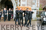 The  Funeral of Tess Leane at St. John's Church Tralee on Saturday