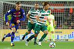League Santander 2017/2018. Game: 05.<br /> FC Barcelona vs SD Eibar: 6-1.<br /> Inui vs Gerard Deulofeu.
