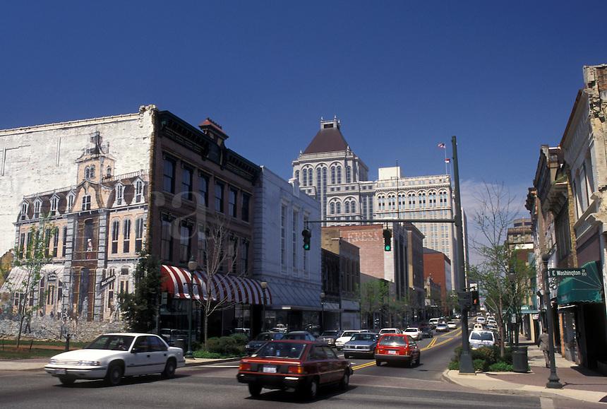 Greensboro, NC, North Carolina, Downtown Greensboro