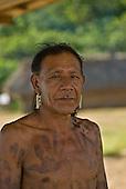 Pará State, Brazil. Aldeia Pukararankre (Kayapo). Takanhotire Kayapo.