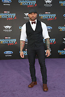 19 April 2017 - Hollywood, California - Dave Bautista. Premiere Of Disney And Marvel's &quot;Guardians Of The Galaxy Vol. 2&quot; held at Dolby Theatre. <br /> CAP/ADM/PMA<br /> &copy;PMA/ADM/Capital Pictures