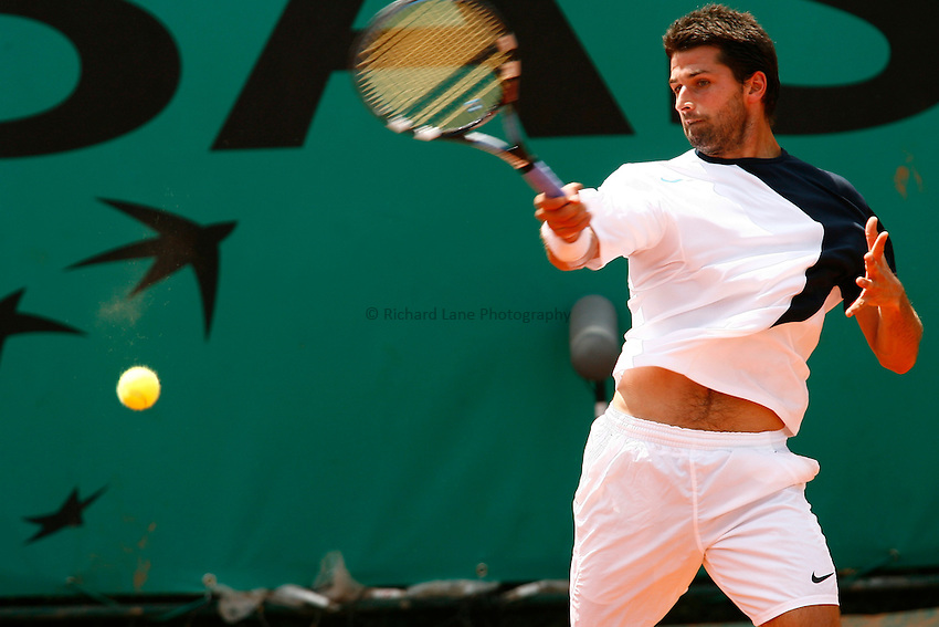 Photo: Iconsport/Richard Lane Photography..French Open, Roland Garros 2007. 31/05/2007..Olivier Patience.