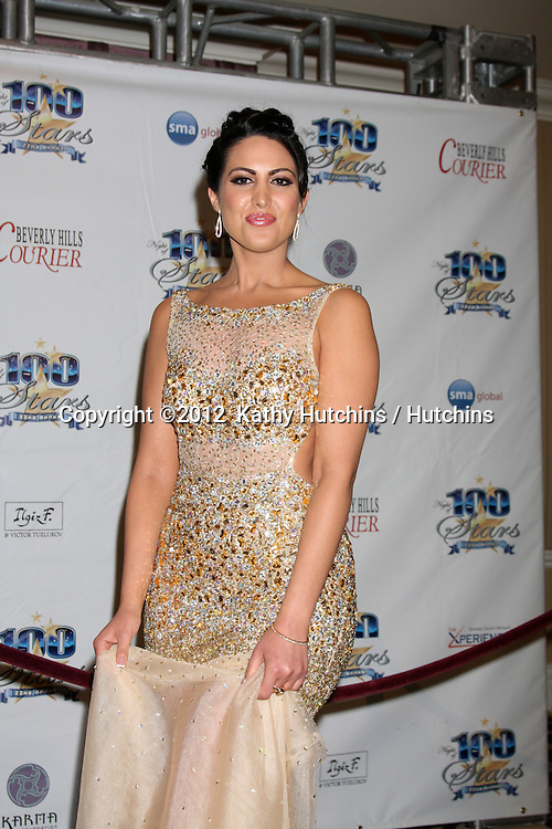 """LOS ANGELES - FEB 26:  Estrella Nouri arrives at the """"Night of a 100 Stars"""" Oscar Viewing Party at the Beverly Hills Hotel on February 26, 2012 in Beverly Hills, CA."""