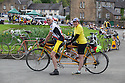 2106/15<br /> <br /> Tandem in Hartington.<br /> <br /> Three Thousand cyclists riding vintage machines, all older than 1987, take to the hills of the Peak District in Derbyshire, as part of the Eroica Britannia Festival held in Bakewell this weekend.<br /> <br /> All Rights Reserved: F Stop Press Ltd. +44(0)1335 418629   www.fstoppress.com.