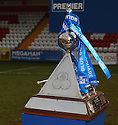 Blue Square Premier championship trophy after the Blue Square Premier match between Stevenage Borough and York City at the Lamex Stadium, Broadhall Way, Stevenage on Saturday 24th April, 2010..© Kevin Coleman 2010 ..