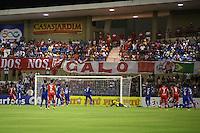 MACEIÓ, AL, 05.02.2017 - CRB-CSA - Gol do CRB, durante partida contra o CSA (AL) em jogo válido pela 2ª rodada da Copa do Nordeste 2017, no Estádio Rei Pelé, em Maceió, neste domingo, 05. (Foto: Alisson Frazão/Brazil Photo Press)