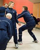 081229 - 2009 WJC - Team Sweden off-ice