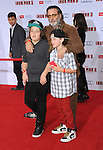 "Andy Garcia and sons at the premiere of Marvel's ""Iron Man 3"" at the El Capitan Theatre Los Angeles, CA. April 24, 2013"