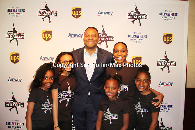 Craig Livingston & Harlem Skaters - Figure Skating in Harlem presents Champions in Life Benefit Gala on April 29, 2019 at Chelsea Pier, New York City, New York - (Photo by Sue Coflin/Max Photos)