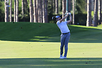 Danny Willett (ENG) plays his 2nd shot on the 17th hole during Friday's Round 2 of the 2018 Turkish Airlines Open hosted by Regnum Carya Golf &amp; Spa Resort, Antalya, Turkey. 2nd November 2018.<br /> Picture: Eoin Clarke | Golffile<br /> <br /> <br /> All photos usage must carry mandatory copyright credit (&copy; Golffile | Eoin Clarke)