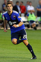 Geoff Cameron in the MLS All Stars v Everton 4-3 Everton win at Rio Tinto Stadium in Sandy, Utah on July 29, 2009