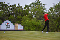 Martin Kaymer (GER) watches his tee shot on 15 during Round 2 of the Valero Texas Open, AT&amp;T Oaks Course, TPC San Antonio, San Antonio, Texas, USA. 4/20/2018.<br /> Picture: Golffile | Ken Murray<br /> <br /> <br /> All photo usage must carry mandatory copyright credit (&copy; Golffile | Ken Murray)