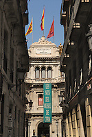 - Barcellona, front of the Museum of the Waxes in the Ciutat Vella district....- Barcellona, facciata del Museo delle Cere nel quartiere della Ciutat Vella ....
