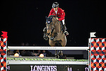 Pius Schwizer on PSG Future competes during the AirbusTrophy at the Longines Masters of Hong Kong on 20 February 2016 at the Asia World Expo in Hong Kong, China. Photo by Victor Fraile / Power Sport Images