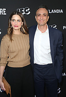 "NORTH HOLLYWOOD, CA - MAY 15: Amanda Peet, Hank Azaria, at IFC Hosts ""Brockmire"" And ""Portlandia"" EMMY FYC Red Carpet Event at Saban Media Center at the Television Academy, Wolf Theatre in North Hollywood, California on May 15, 2018. Credit: Faye Sadou/MediaPunch"
