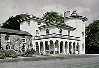 Cronkhill: Atcham, Shropshire. Earliest Italianate Villa in England. Designed by John Nash, 1810.