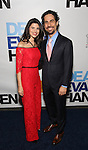 Ileana Ferreras and Alex Lacamoire attends the Broadway Opening Night Performance of 'Dear Evan Hansen'  at The Music Box Theatre on December 4, 2016 in New York City.
