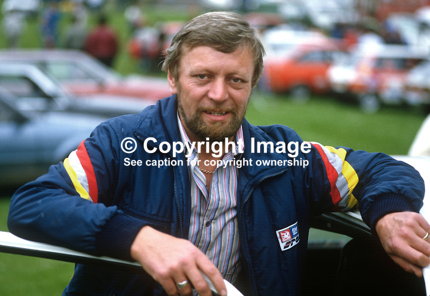 Bertie Law, Lisburn, N Ireland, rally driver, motor sport, rallying, sport, 19850709BL1..Copyright Image from Victor Patterson, 54 Dorchester Park, Belfast, UK, BT9 6RJ..Tel: +44 28 9066 1296.Mob: +44 7802 353836.Voicemail +44 20 8816 7153.Skype: victorpattersonbelfast.Email: victorpatterson@me.com.Email: victorpatterson@ireland.com (back-up)..IMPORTANT: If you wish to use this image or any other of my images please go to www.victorpatterson.com and click on the Terms & Conditions. Then contact me by email or phone with the reference number(s) of the image(s) concerned.