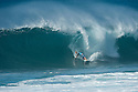 Kelly Slater (USA) during the Billabong Pipeline Masters at Backdoor on the Northshore of Oahu in Hawaii.