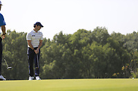 Rory McIlroy (NIR) on the 10th green during round 1 at the WGC HSBC Champions, Sheshan Golf Club, Shanghai, China. 31/10/2019.<br /> Picture Fran Caffrey / Golffile.ie<br /> <br /> All photo usage must carry mandatory copyright credit (© Golffile | Fran Caffrey)