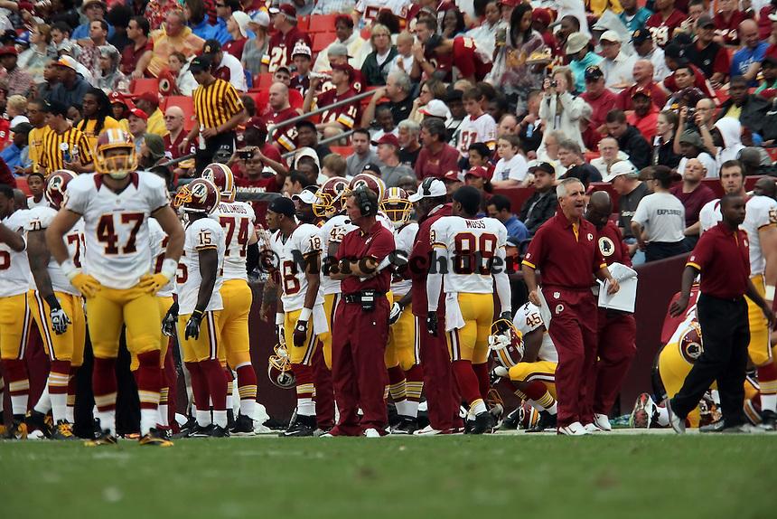 Redskins besprechen sich