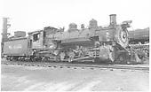 K-37 #492 in Durango yard.<br /> D&amp;RGW  Durango, CO  Taken by Payne, Andy M. - 4/10/1964