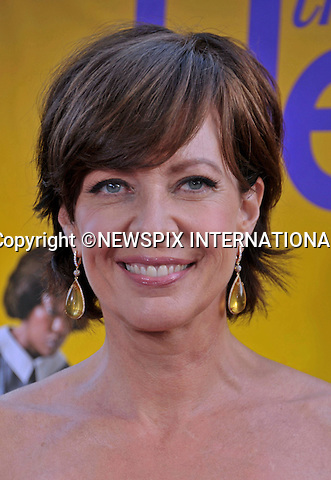 "ALLISON JANNEY.attends ""The Help"" World Premiere at the Samuel Goldwyn Theater, Beverly Hills, Westwood, Los Angeles_09/08/2011.Mandatory Photo Credit: ©Crosby/Newspix International. .**ALL FEES PAYABLE TO: ""NEWSPIX INTERNATIONAL""**..PHOTO CREDIT MANDATORY!!: NEWSPIX INTERNATIONAL(Failure to credit will incur a surcharge of 100% of reproduction fees).IMMEDIATE CONFIRMATION OF USAGE REQUIRED:.Newspix International, 31 Chinnery Hill, Bishop's Stortford, ENGLAND CM23 3PS.Tel:+441279 324672  ; Fax: +441279656877.Mobile:  0777568 1153.e-mail: info@newspixinternational.co.uk"