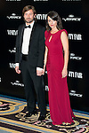 Santiago Pedraz and Paula Arenas Martin-Abril attends the photocall organized by Vanity Fair to reward Placido Domingo as &quot;Person of the Year 2015&quot; at the Ritz Hotel in Madrid, November 16, 2015.<br /> (ALTERPHOTOS/BorjaB.Hojas)