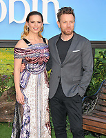 Hayley Atwell and Ewan McGregor at the &quot;Christopher Robin&quot; European film premiere, BFI Southbank, Belvedere Road, London, England, UK, on Sunday 05 August 2018.<br /> CAP/CAN<br /> &copy;CAN/Capital Pictures
