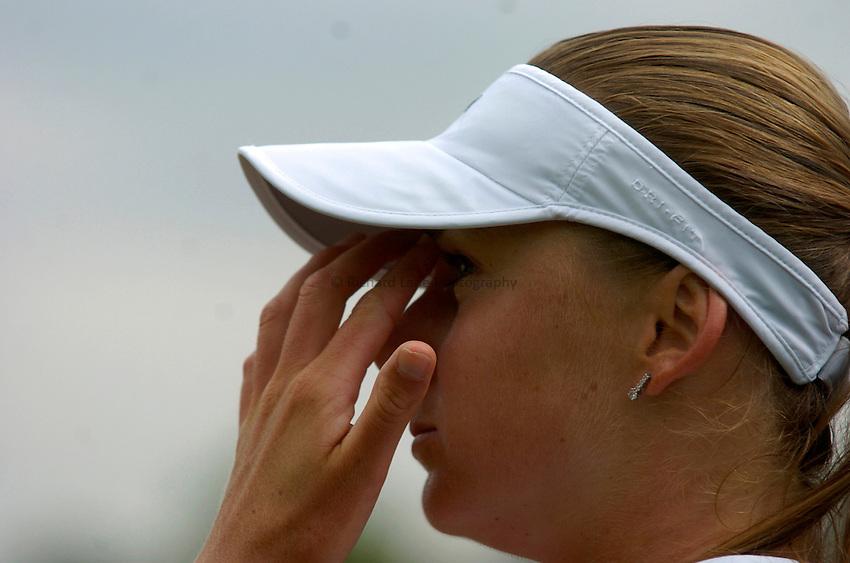Photo: Richard Lane..Wimbledon Championships. 27/06/2006. .Solvakia's Daniela Hantuchova.