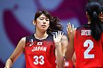 Tamami Nakada (JPN), <br /> AUGUST 15, 2018 - Basketball : Women's Qualification round match between Hong Kong 44-121 Japan at Gelora Bung Karno Basket Hall A during the 2018 Jakarta Palembang Asian Games in Jakarta, Indonesia.<br /> (Photo by MATSUO.K/AFLO SPORT)