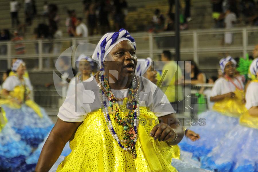 SÃO PAULO,SP,18.01.2019 - CARNAVAL-SP - Ensaio Técnico Geral da escola de samba Unidos do Peruche no sambódromo do Anhembi localizado na zona norte de São Paulo na noite desta sexta-feira, 18. (Foto:Nelson Gariba/Brazil Photo Press)